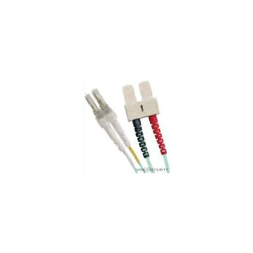 Excel 200-093 Optikai duplex patch kábel; LC-SC 50/125 OM2; 10 m