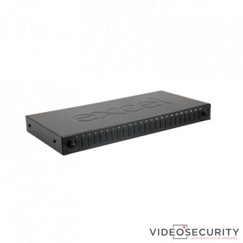 Excel 200-952 Optikai patch panel LC duplex SM/MM 24 portos üres