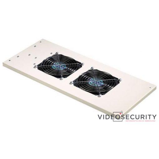 Excel 540-302-BK-SCHUKO Ventilátoregység 2 ventilátorral; faliszekrényekhez