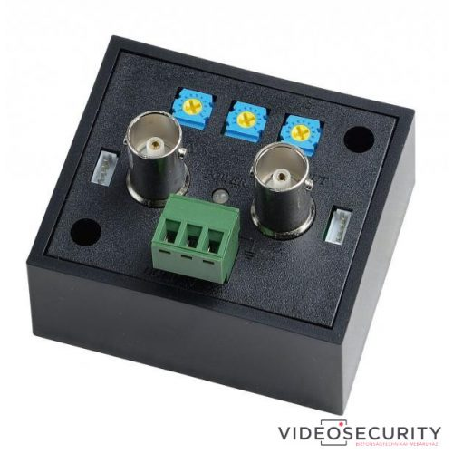 Nestron CA101HD-2 1 csatornás HD-TVI/HD-CVI/AHD videojel-erősítő; koax rendszerekhez