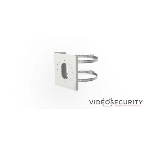 Hikvision DS-1275ZJ-S-SUS Oszlopkonzol kamerákhoz és fali tartókhoz rozsdamentes acél 67-127 mm átmérőhöz