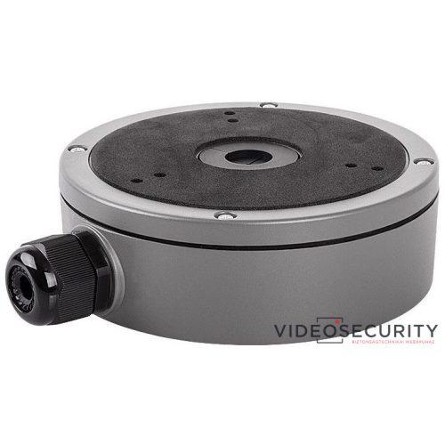 Hikvision DS-1280ZJ-M-G Kötődoboz dómkamerákhoz grafitszürke