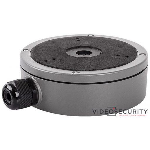 Hikvision DS-1280ZJ-M-G Kötődoboz dómkamerákhoz; grafitszürke