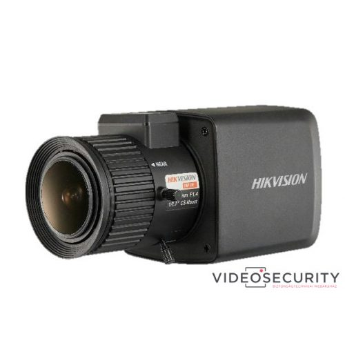 Hikvision DS-2CC12D8T-AMM 2 MP THD WDR boxkamera; OSD menüvel
