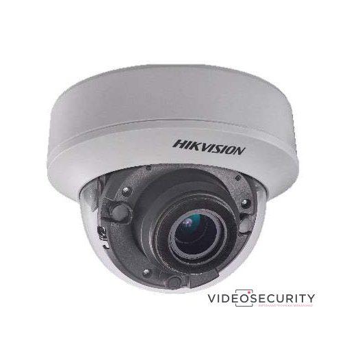Hikvision DS-2CC52D9T-AITZE (2.8-12mm) 2 MP THD WDR motoros zoom EXIR dómkamera; OSD menüvel; PoC