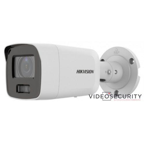 Hikvision DS-2CD2087G2-LU (4mm) 8 MP WDR fix ColorVu AcuSense IP csőkamera; láthatófény; beépített mikrofon