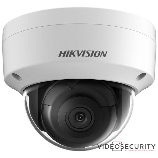 Hikvision DS-2CD2145FWD-IS (2.8mm) 4 MP WDR fix EXIR IP dómkamera; hang be- és kimenet