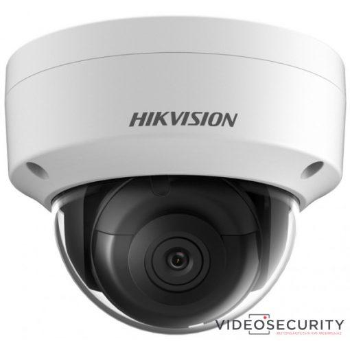 Hikvision DS-2CD2185FWD-IS (4mm) 8 MP WDR fix EXIR IP dómkamera; hang be- és kimenet