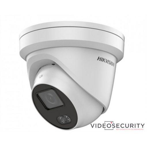 Hikvision DS-2CD2327G1-LU (6mm) 2 MP WDR fix ColorVu IP dómkamera; beépített mikrofonnal