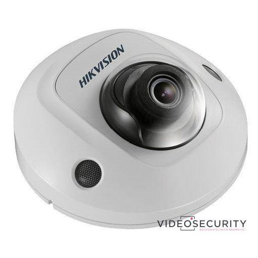 Hikvision DS-2CD2523G0-IS (2.8mm) 2 MP WDR fix EXIR IP mini dómkamera; hangkimenet és mikrofon