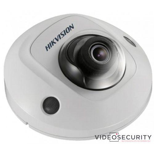 Hikvision DS-2CD2523G0-IS (4mm) 2 MP WDR fix EXIR IP mini dómkamera hangkimenet és mikrofon