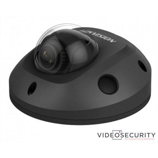 Hikvision DS-2CD2545FWD-IS-B (4mm) 4 MP WDR fix EXIR IP mini dómkamera; hangkimenet és mikrofon; fekete