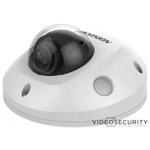 Hikvision DS-2CD2545FWD-IS (6mm) 4 MP WDR fix EXIR IP mini dómkamera; hangkimenet és mikrofon
