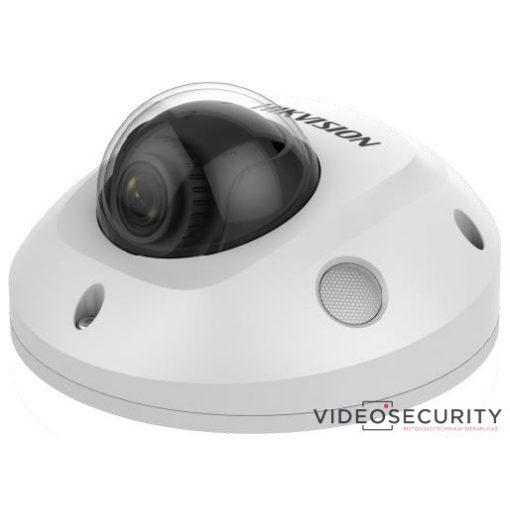 Hikvision DS-2CD2563G0-IS (2.8mm) 6 MP WDR fix EXIR IP mini dómkamera; hangkimenet és mikrofon
