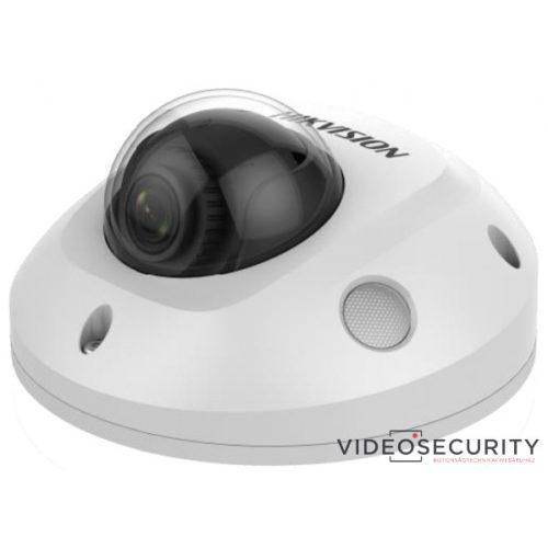 Hikvision DS-2CD2563G0-IS (4mm) 6 MP WDR fix EXIR IP mini dómkamera hangkimenet és mikrofon