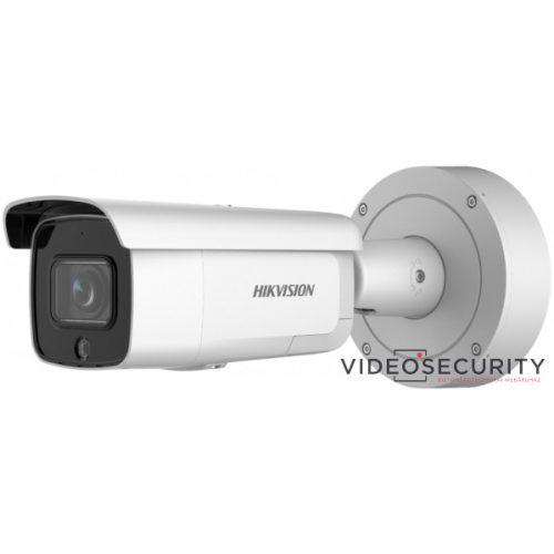 Hikvision DS-2CD2686G2-IZSU/SL(2.8-12mm) 8 MP WDR motoros zoom AcuSense EXIR IP csőkamera integrált RJ45 mikrofon fény- és hangriasztás