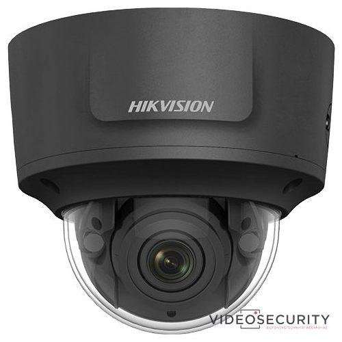 Hikvision DS-2CD2725FWD-IZS-B (2.8-12mm) 2 MP WDR motoros zoom EXIR IP dómkamera hang be- és kimenet fekete