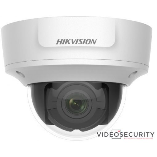 Hikvision DS-2CD2726G1-IZS (2.8-12mm) 2 MP WDR motoros zoom AcuSense EXIR IP dómkamera; hang be- és kimenet