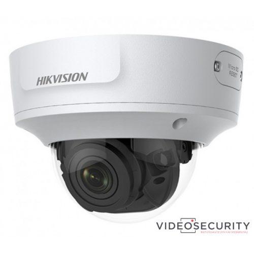 Hikvision DS-2CD2763G1-IZS (2.8-12mm) 6 MP WDR motoros zoom EXIR IP dómkamera; hang be- és kimenet