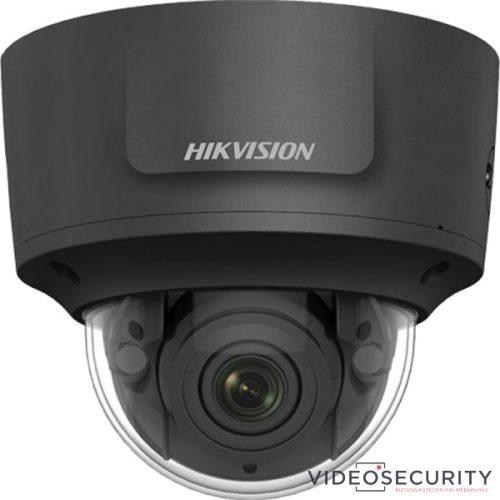 Hikvision DS-2CD2763G1-IZS-B (2.8-12mm) 6 MP WDR motoros zoom EXIR IP dómkamera hang be- és kimenet fekete