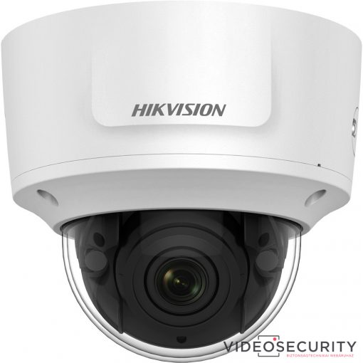 Hikvision DS-2CD2785FWD-IZS(2.8-12mm)(B) 8 MP WDR motoros zoom EXIR IP dómkamera; hang be- és kimenet