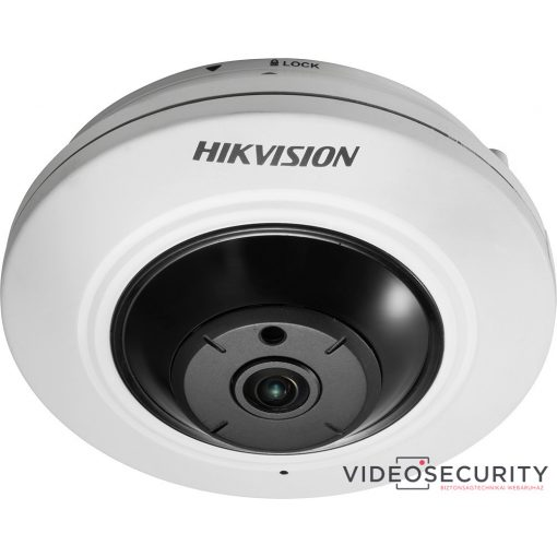 Hikvision DS-2CD2955FWD-IS (1.05mm) 5 MP WDR mini IR IP panorámakamera 180° látószöggel; hang be- és kimenet