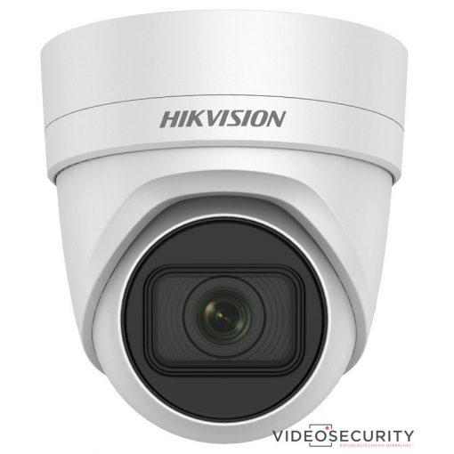 Hikvision DS-2CD2H23G0-IZS (2.8-12mm) 2 MP WDR motoros zoom EXIR IP dómkamera; hang be- és kimenet