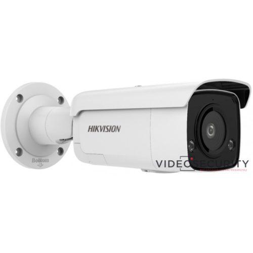 Hikvision DS-2CD2T26G2-ISU/SL (2.8mm) 2 MP WDR fix EXIR AcuSense IP csőkamera mikrofon fény- és hangriasztás riasztás I/O