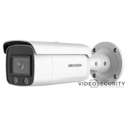 Hikvision DS-2CD2T27G2-L (2.8mm) 2 MP WDR fix ColorVu AcuSense IP csőkamera; láthatófény