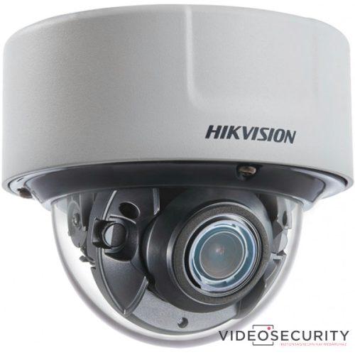 Hikvision DS-2CD51C5G0-IZS (2.8-12mm)(B) 12 MP DarkFighter motoros zoom IR Smart IP dómkamera; hang be- és kimenet