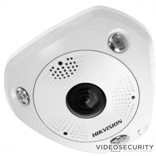 Hikvision DS-2CD6365G0-IVS (1.27mm) 6 MP 360° vandálbiztos IR Smart IP panorámakamera hang/riasztás be-/kimenet mikrofon/hangszóró