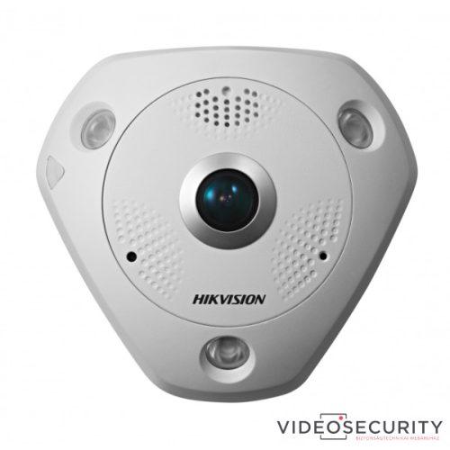 Hikvision DS-2CD6365G0E-IS (1.27mm) (B) 6 MP 360° IR Smart IP panorámakamera hang és riasztás be- és kimenet beépített mikrofon/hangszóró
