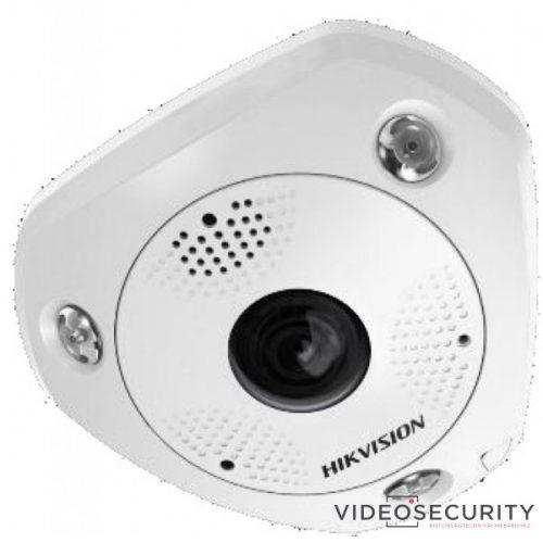 Hikvision DS-2CD6365G0E-IVS (1.27mm) (B) 6 MP 360° vandálbiztos IR Smart IP panorámakamera hang/riasztás be-/kimenet mikrofon/hangszóró