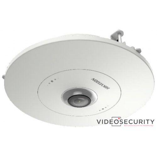Hikvision DS-2CD6365G0E-S/RC (1.27mm) 6 MP 360° IP panorámakamera; hang és riasztás be- és kimenet; beépített mikrofon