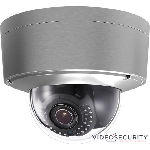 Hikvision DS-2CD6626DS-IZHS (2.8-12mm) 2 MP WDR DarkFighter motoros zoom IR Smart IP dómkamera; korrózióálló házban