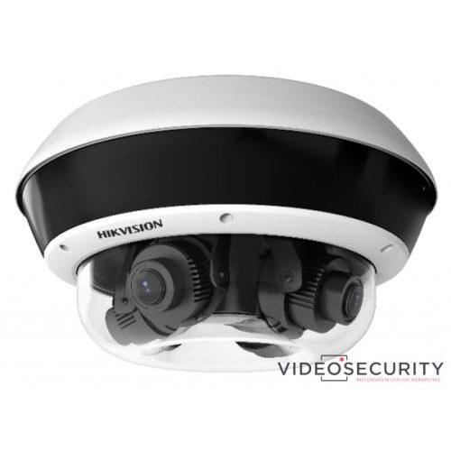 Hikvision DS-2CD6D54FWD-IZHS (2.8-12mm) PanoVu Flexible 4x5 MP vandálbiztos EXIR IP panorámakamera hang és riasztás be- és kimenet