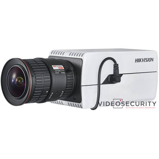Hikvision DS-2CD7046G0 4 MP DeepinView IP WDR Darkfighter boxkamera; hang be- és kimenet