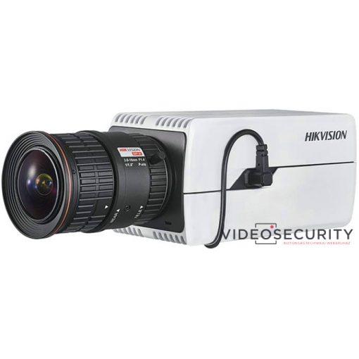 Hikvision DS-2CD7085G0-AP 8 MP DeepinView IP WDR DarkFighter boxkamera; hang be- és kimenet; P-írisz