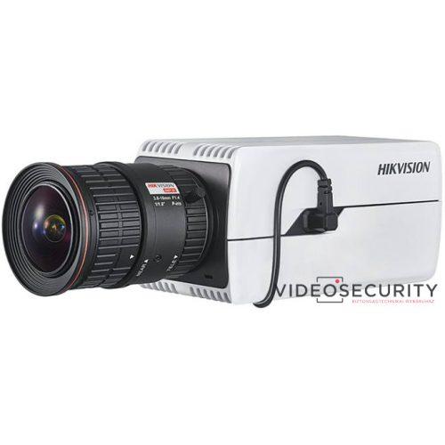 Hikvision DS-2CD7085G0 8 MP DeepinView IP WDR DarkFighter boxkamera hang be- és kimenet