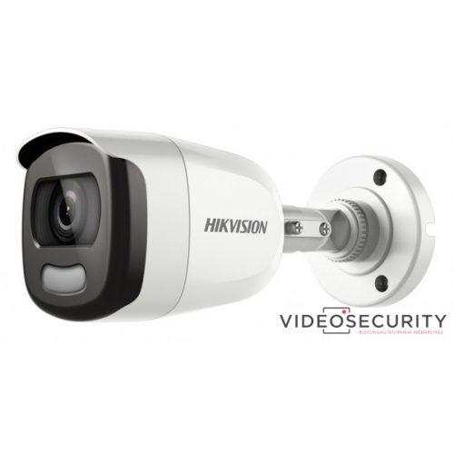 Hikvision DS-2CE10DFT-F28 (2.8mm) 2 MP ColorVu THD WDR fix csőkamera OSD menüvel