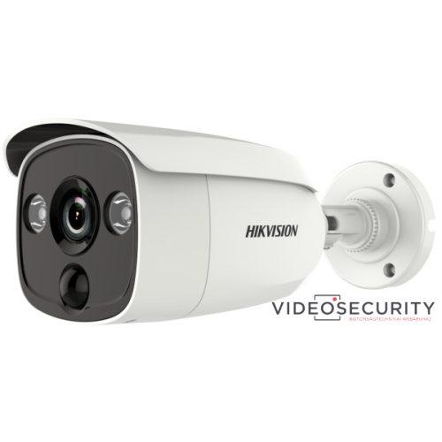 Hikvision DS-2CE12D8T-PIRLO (2.8mm) 2 MP THD WDR fix EXIR csőkamera OSD menüvel PIR mozgásérzékelővel riasztás kimenet