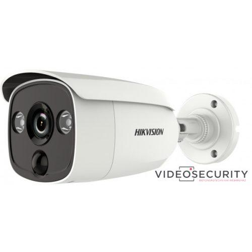 Hikvision DS-2CE12H0T-PIRLO (2.8mm) 5 MP THD fix EXIR csőkamera OSD menüvel PIR mozgásérzékelővel riasztás kimenet