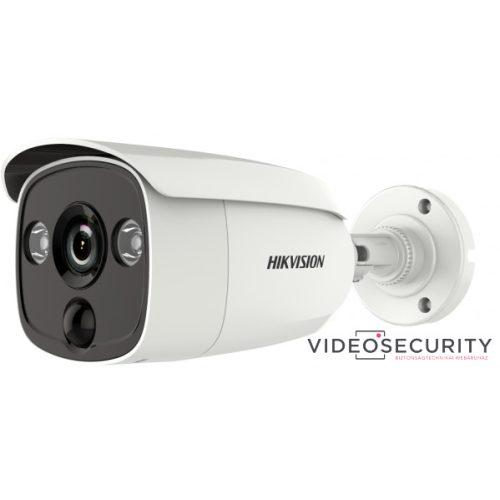 Hikvision DS-2CE12H0T-PIRLO (3.6mm) 5 MP THD fix EXIR csőkamera OSD menüvel PIR mozgásérzékelővel riasztás kimenet