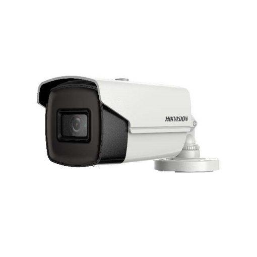 Hikvision - 5 MP THD WDR fix EXIR csőkamera; OSD menüvel; TVI/AHD/CVI/CVBS kimenet