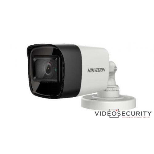 Hikvision DS-2CE16H8T-ITF (2.8mm) 5 MP THD WDR fix EXIR csőkamera OSD menüvel TVI/AHD/CVI/CVBS kimenet