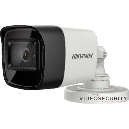 Hikvision DS-2CE16U1T-ITF (2.8mm) 8 MP THD fix EXIR csőkamera; OSD menüvel; TVI/AHD/CVI/CVBS kimenet