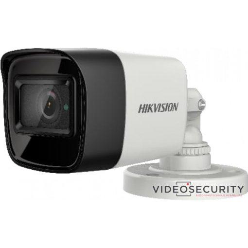 Hikvision DS-2CE16U1T-ITF (3.6mm) 8 MP THD fix EXIR csőkamera; OSD menüvel; TVI/AHD/CVI/CVBS kimenet