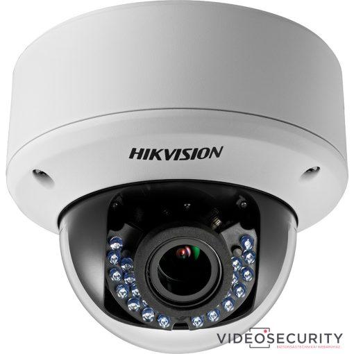 Hikvision DS-2CE56C0T-VPIR3F (2.8-12mm) 1 MP THD varifokális vandálbiztos IR dómkamera; TVI/AHD/CVI/CVBS kimenet