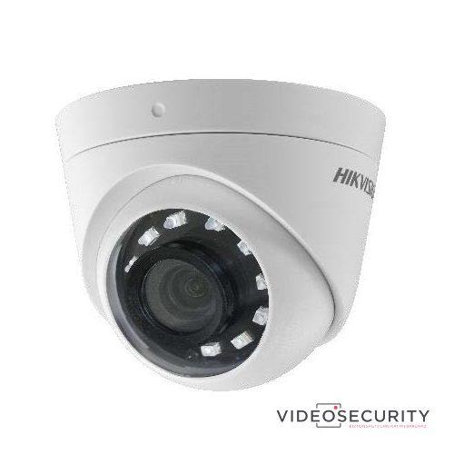 Hikvision DS-2CE56D0T-I2FB (2.8mm) 2 MP THD fix IR dómkamera TVI/AHD/CVI/CVBS kimenet OSD menü beépített balun