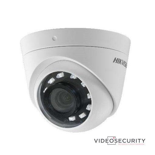 Hikvision DS-2CE56D0T-I2FB (2.8mm) 2 MP THD fix IR dómkamera; TVI/AHD/CVI/CVBS kimenet; OSD menü; beépített balun